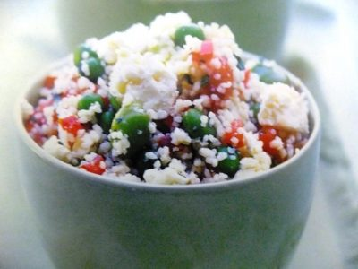 How to make couscous, broad beans, peas, mint and feta salads? Couscous, broad beans, peas, mint and feta salad recipes and ingredient shared on our page.
