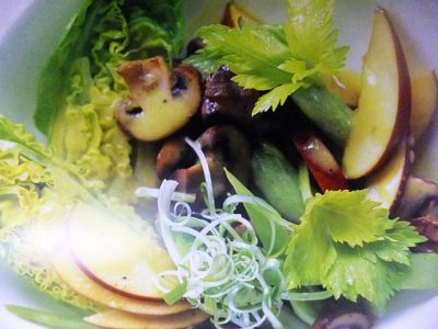 How to make little gem, mushroom, apple and celery salads? Little gem, mushroom, apple and celery salad recipes and ingredient shared on our page.