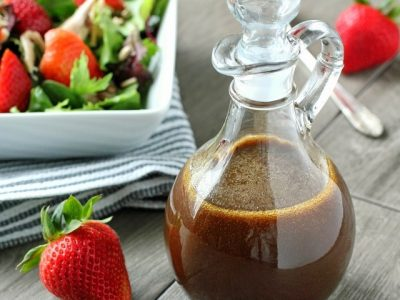 How to make Balsamic vinaigrette salad dressings? Balsamic vinaigrette salad dressing recipes and ingredient shared on our page.