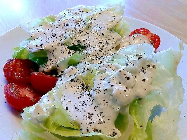 How to make blue cheese salad dressings? Blue cheese salad dressing recipe recipe and ingredient shared on our page.