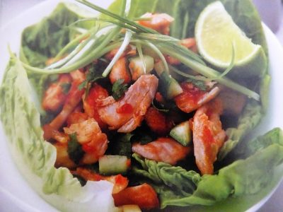 How to make crispy chilli chicken salads? Crispy chilli chicken salad recipes and ingredient shared on our page.