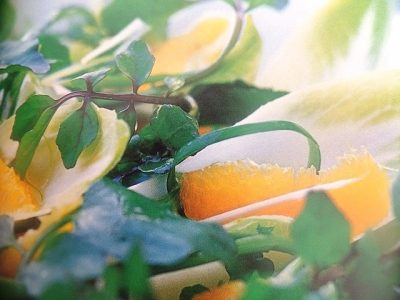 How to make herb leaf salads? Herb leaf salad recipes and ingredient shared on our page.