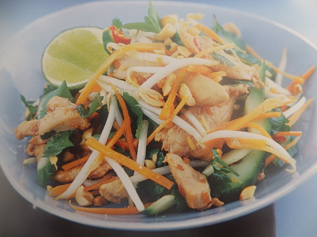 How to make Thai chicken salads? Thai chicken salad recipes and ingredient shared on our page.