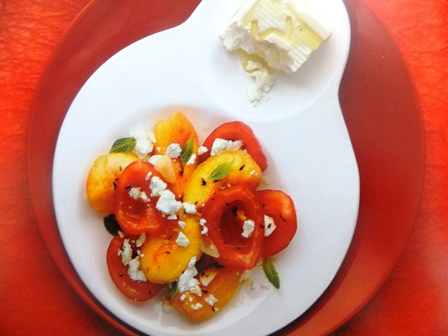How to make tomato, peach and cumin salads? Tomato, peach and cumin salad recipes and ingredient shared on our page.