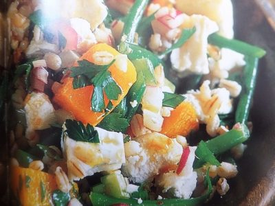 How to make warm barley salad with butternut squash salads? Warm barley salad with butternut squash salad recipes and ingredient shared on our page.