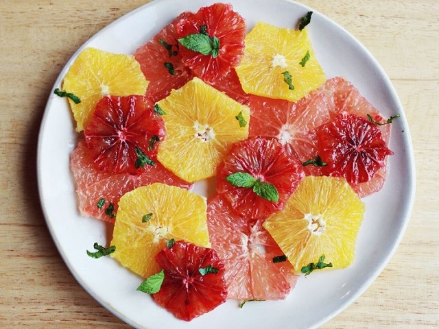 How to make citrus salads? Citrus salad recipes and ingredient shared on our page.