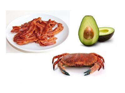 How to make crab, avocado and crispy bacon salad? Crab, avocado and crispy bacon salad recipes and ingredient shared on our page.
