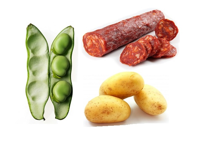 How to make new potatoes with chorizo and broad beans? New potatoes with chorizo and broad beans recipes and ingredient shared on our page.