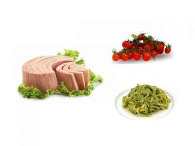 How to make seared tuna and pesto pasta salads? Tuna and pesto pasta salad recipes and ingredient shared on our page.