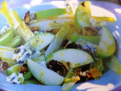 How to make chicory and apple salad? Chicory & apple salad recipe with ingredients shared on our page.