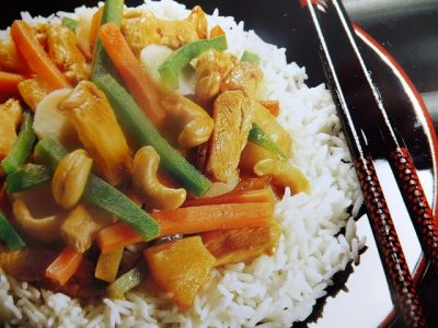 A quick and easy Chinese dish with a medley of flavours and texture which will make you come back for more. Serve with boiled rice or noodles.