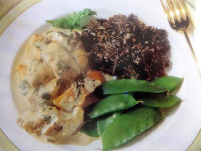 Rich chicken livers combine with turkey breast to make this dish a feast to remember at any time of year. How to make turkey and liver in basil sauce?