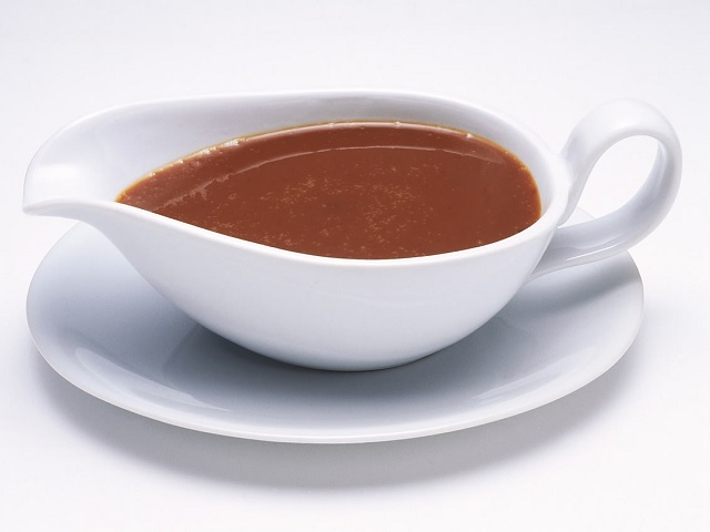 How to make gravy? Gravy sauce recipe and ingredient shared.. Gravy is made from the meat juices released during roasting, casseroling, braising or frying.