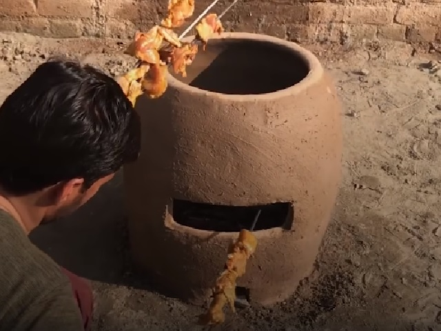 Check this DIY Tandoor oven!