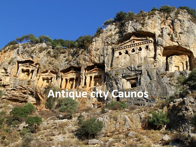 Antique city Caunos