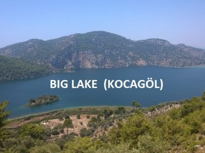 Lake Kocagöl is the biggest lake in Dalaman. Given ist geographical location and water quality, it is divided into two.