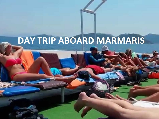 The motorboat tours generally depart Marmaris at 10:30 and return about 18:00. The boats generally cruise on the following route: Günnücek Forest, Aktaş