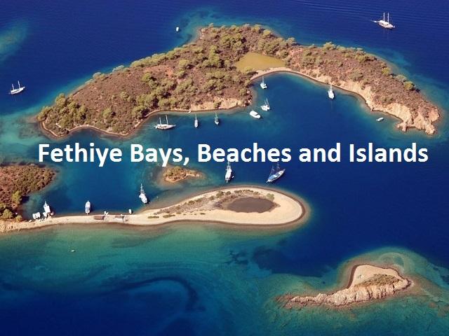 Gemiler Island, Sovalye Island, Kızılkaya (Red Island), Deliktas Island, Yassıca, Zeytin Island, Tersane Island, Domuz Island