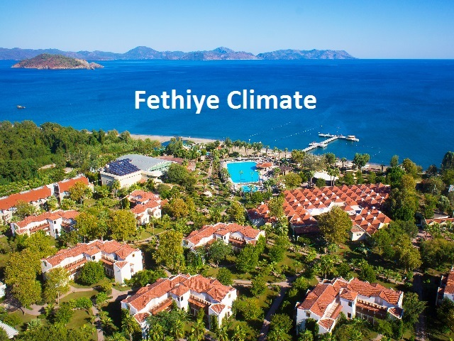 The typical Mediterranean climate prevails in Fethiye with hot and dry summers and winters that are temperate with frequent precipitation.