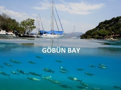 Göbün bay is a hidden paradise at the foot of hills in Fethiye Gulf. When you enjoy the sea here, we bet that you would wish that this joy would last forever.