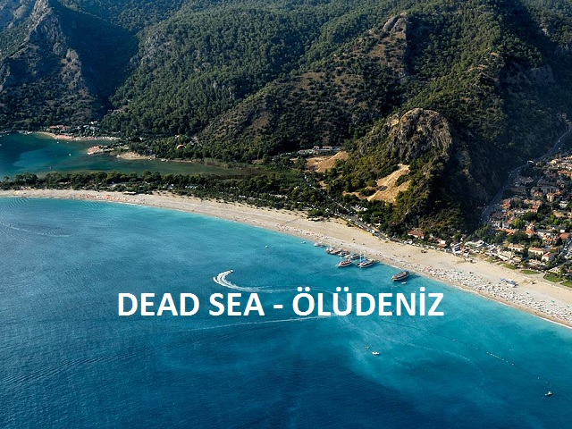 the Dead Sea (Ölüdeniz)