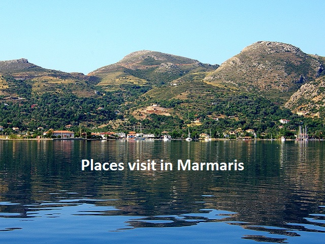 The first place to visit in Marmaris is the Fortress which is thought to have been built by the lonians. At present it serves as the Archaeology Museum
