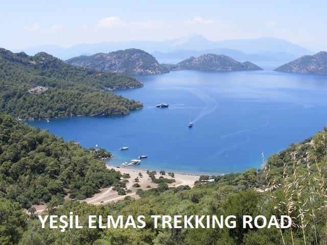 Yeşil Elmas Trekking Road (40 km in Total)