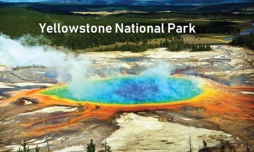 Yellowstone national park (Idaho, Montana, Wyoming)