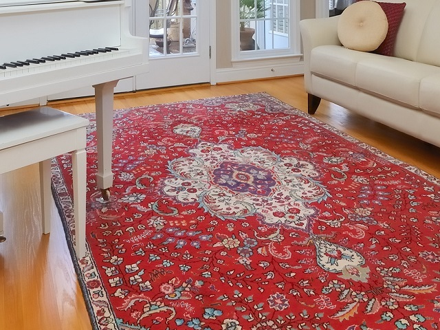 How to clean and remove the stench of antique area rug