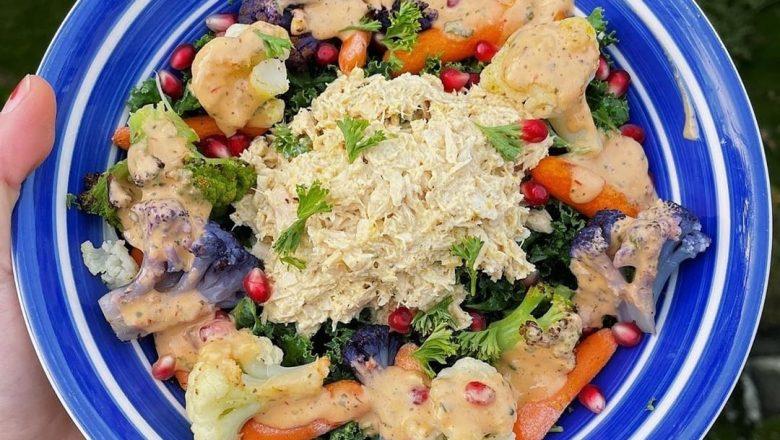 Curry tuna salad