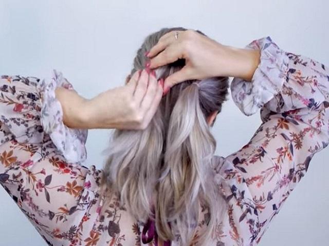 Simple elegant updo hairstyles suitable medium length hair