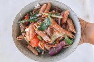 Vego mediterranean pasta salad